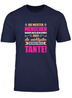 Damen T Shirt Tante Neffe Nichte Geschenk Witz Spruch
