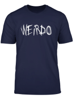 Weirdo Emo Lustiges Goth Heavy Metal Kawaii Weird Geschenk T Shirt