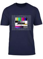 70Er Jahre 70S Motto Party Shirt Analoger Tv Fernseher