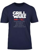 Grill Wars Vorsichtig Die Wurst Eine Dunkle Seite Schon Hat T Shirt