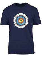Bogenschiessen Shirt Body Target Zielscheibe T Shirt Geschenk