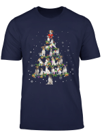 Jack Russell Terrier Noel Xmas Tree Cool Christmas Love Gift T Shirt