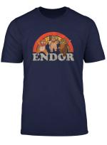 Star Wars Return Of The Jedi Cute Ewoks Endor Retro T Shirt