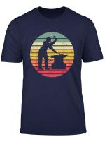 Schmied Schmiede Shirt Amboss Hammer Handwerker T Shirt