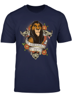 Disney The Lion King Scar I M Surrounded By Idiots Tattoo T Shirt