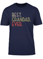Mens Gifts For Grandad From Grandchildren Best Grandad Ever T Shirt