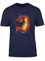 Marvel Spider Man Far From Home Iron Man Graffiti T Shirt