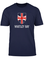 Whitley Bay England British Union Jack Uk T Shirt