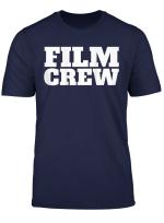 Film Crew Shirt Print On Back Filming Movie Set T Shirt