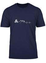 Berge Radfahren T Shirt Mountainbiken Fahrrad Geschenk