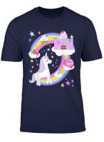 Yume Kawaii Pastel Goth Einhorn Regenbogen Sussigkeitenburg T Shirt