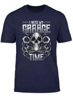 Mechanic Car Fixing Garage Engineer Tools Gift Dad Father T Shirt