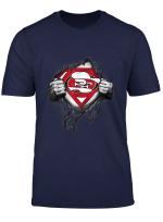 Merry Christmas Football Team Superhero Sanfrancisco 49Er T Shirt
