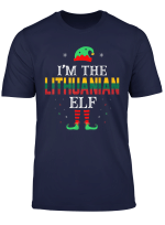 Lithuanian Elf Christmas Funny Gift T Shirt