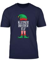 Kleiner Bruder Elf Partnerlook Familien Outfit Weihnachten T Shirt