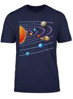 Sonnensystem Planeten Nach Entfernung Von Der Sonne T Shirt