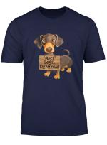 Short Legs Big Attitude Dachshund Gifts T Shirt