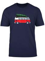 Weihnachten Weihnachtsbaum Auf Auto Van Xmas Ugly Sweater T Shirt
