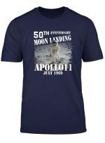 50Th Anniversary Moon Landing Apollo 11 Man On Moon Tshirt