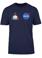 Artemis Mission 1 One Badge Nasa Front And Back Design T Shirt