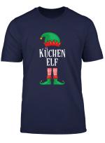 Kuchen Elf Partnerlook Familien Outfit Weihnachten T Shirt