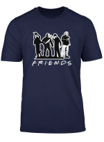 Horror Movies Friend Squad Funny T Shirt
