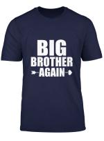 Big Brother Again 2020 Boys Pregnancy Announcement Siblings T Shirt