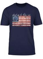Rush Betsy Ross Limbaugh 13 Colonies Stars Flag T Shirt