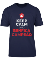 Benfica Tee Keep Calm Gift T Shirt