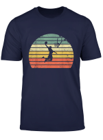 Vintage Retro Basketball Dunk Shirt Sunset Colorful Tshirt