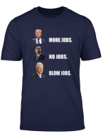 Donald Trump More Jobs Obama No Jobs Bill Clinton Blow Jobs