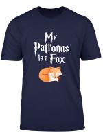 My Patronus Is A Fox Cute Fox Lover Gift T Shirt
