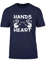 Hands With Heart Physiotherapeut Massage Physio Masseuer T Shirt