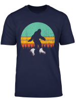 Retro Bigfoot Roller Skate Shirt Skating Sasquatch 80 S Gift T Shirt