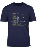 The Thoughts Of Marathoner Funny Marathon Shirt Runner Gift