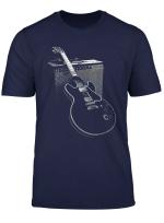 Legendare Blues Gitarre Und Amp T Shirt