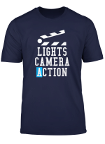 Lights Camera Action Clapper Board Film Crew Director Gift