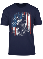 German Shepherd 4Th Of July American Flag Shirt Gifts