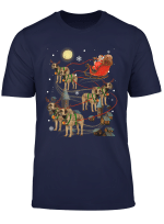 Border Terrier Reindeer Christmas 2019 Xmas Santa Costume T Shirt