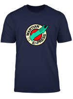Martian Express Space X Starship T Shirt