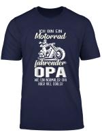 Herren Lustige Cooles Biker Opa Motorrad Opa Geschenk T Shirt