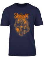 Slipknot Official We Are Not Your Kind Orange T Shirt