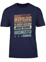 Herren Herren Hausmeister T Shirt Geschenk