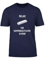 Mundharmonika Spruch T Shirt I Musik Instrument Geschenk