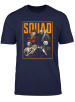 Funny Best Friends Squad Of Psychos Halloween Horror Gift T Shirt