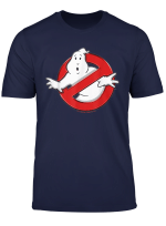 Ghostbusters Classic Movie Logo Poster T Shirt
