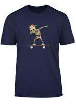 Dabbing Skeleton Skater Gift
