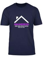 Damen Bauherrin Hausbau Richtfest Haus Bau Geschenkidee T Shirt