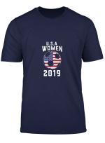 Usa United States Women 2019 Tshirt Soccer Us Shirt Gift T Shirt