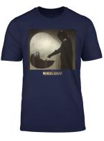 Star Wars The Mandalorian The Child Scene Logo T Shirt
